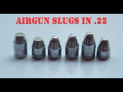بالصور الفرق بين رصاص سلق Slugs  والرصاص العادي Pellets القوة والتصميم الفيزيائي 424 7