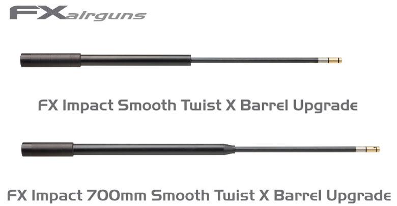 بالصور الفرق بين سبطانة الاف اكس الطويلة والقصيرة fx 700 mm barrel و fx 600 mm barrel 860