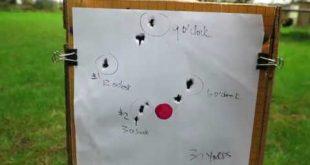 عملية وزن لاينر سبطانة الامباكت بالدوران وتحديدها بطريقة عقارب الساعة