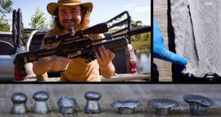 بالصور 6 من البنادق الهوائية المختلفة ضد كتل من الطين : بقوة من 12 الى 80 باوند ( ومفاجاة صغيرة ) 0 153 310x165