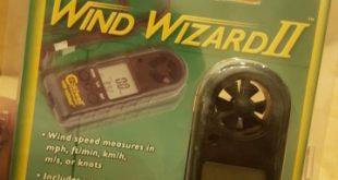 جهاز قياس سرعه الرياح وحرارة الجو