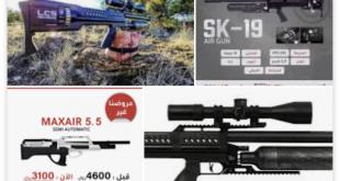 مطلوب بندقية sk 19 تماتيك