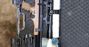 بندقية شتاير برو اكس نصف توماتيك ودربيل هوك للبيع او للبدل