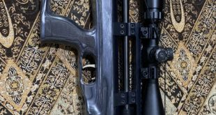 للبيع بندقية تايبان شبه جديدة ٥.٥ بجميع لوازمها